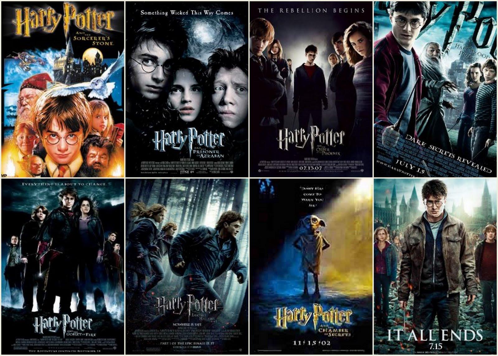 Harry Potter Film Reihenfolge