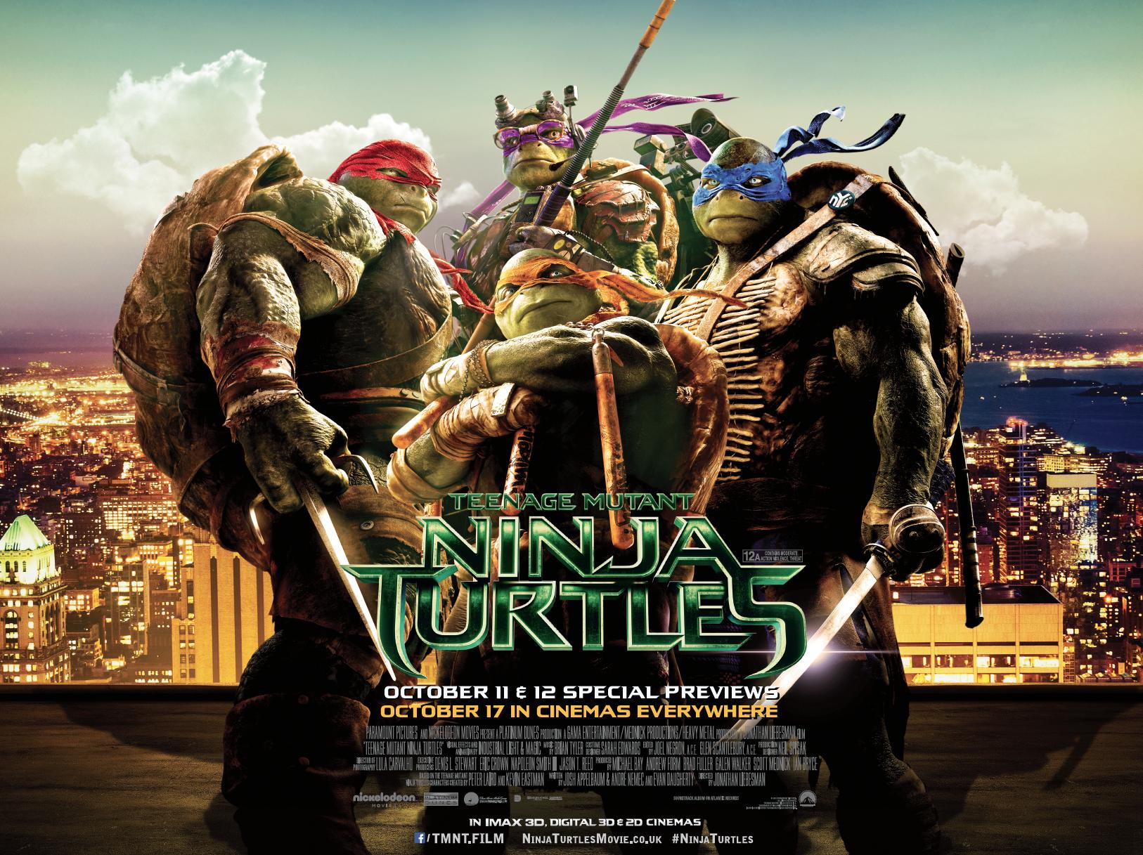 Teenage Mutant Ninja Turtles 2014 Film Criticallyrated